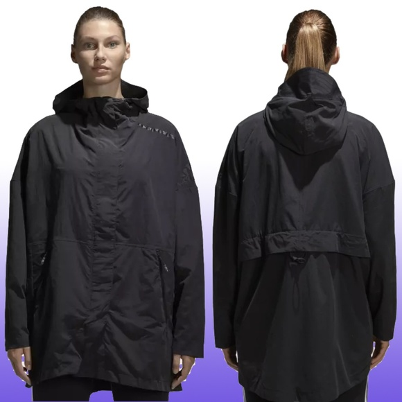 NWT ADIDAS Z.N.E. Supershell Oversized Fall Jacket NWT
